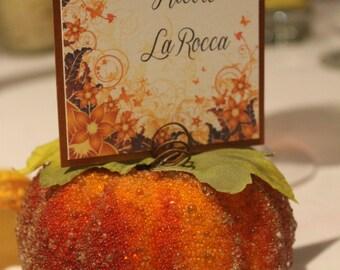 Autumn Elegance Place Card