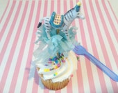 Single Zebra Cake/Cupcake Topper