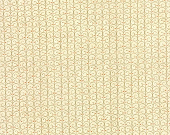 Forest Fancy by Deb Strain - Fall Scrolly Trellis Natural - Moda 19716 16
