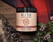 Mens Beard Grooming Cream - Wild Man TUNDRA - Beard Balm 113g // 4oz Valentines Day