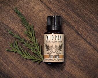 Mens Facial Serum Wild Man STUD TONIC Mens Skin Care - 15ml // .5oz Grooming