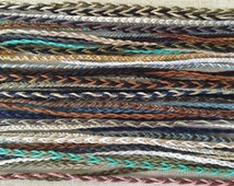 Create Your Own Two Colors - Fish Braid Tie On Bracelets