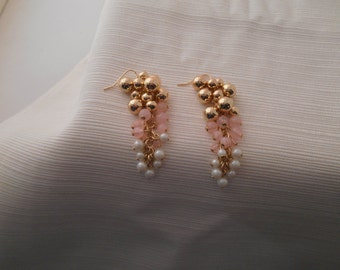 Cluster Of 'Bell Like' Dangle Earrings