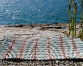 Hand Woven Rug of Recycled Rope