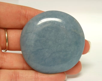 Angelite Polished Palm Stone