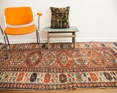 4x9 Antique Kazak Rug Runner