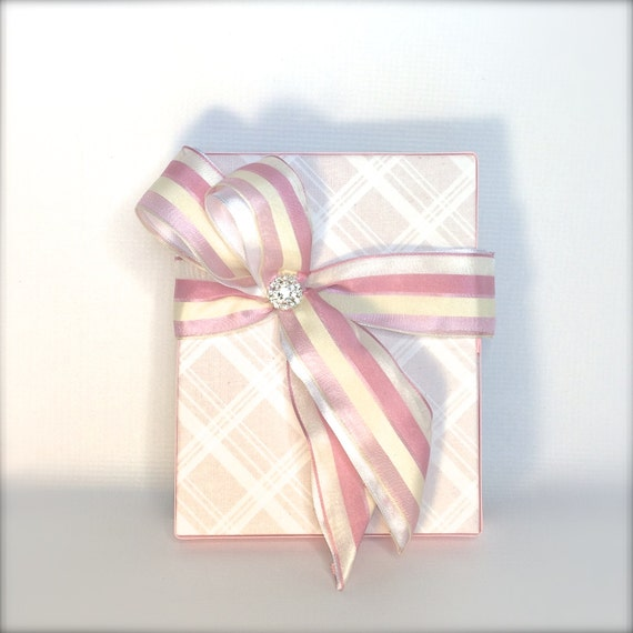 Wedding Gift Box Wrapping : Gift Box Plaid Pink Girls Box Wrap Wedding Favors Boxes Christmas Gift ...
