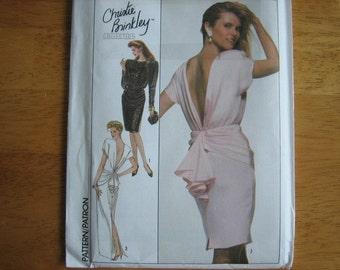 Simplicity Pattern 8944 Misses' Dress     1988     Uncut