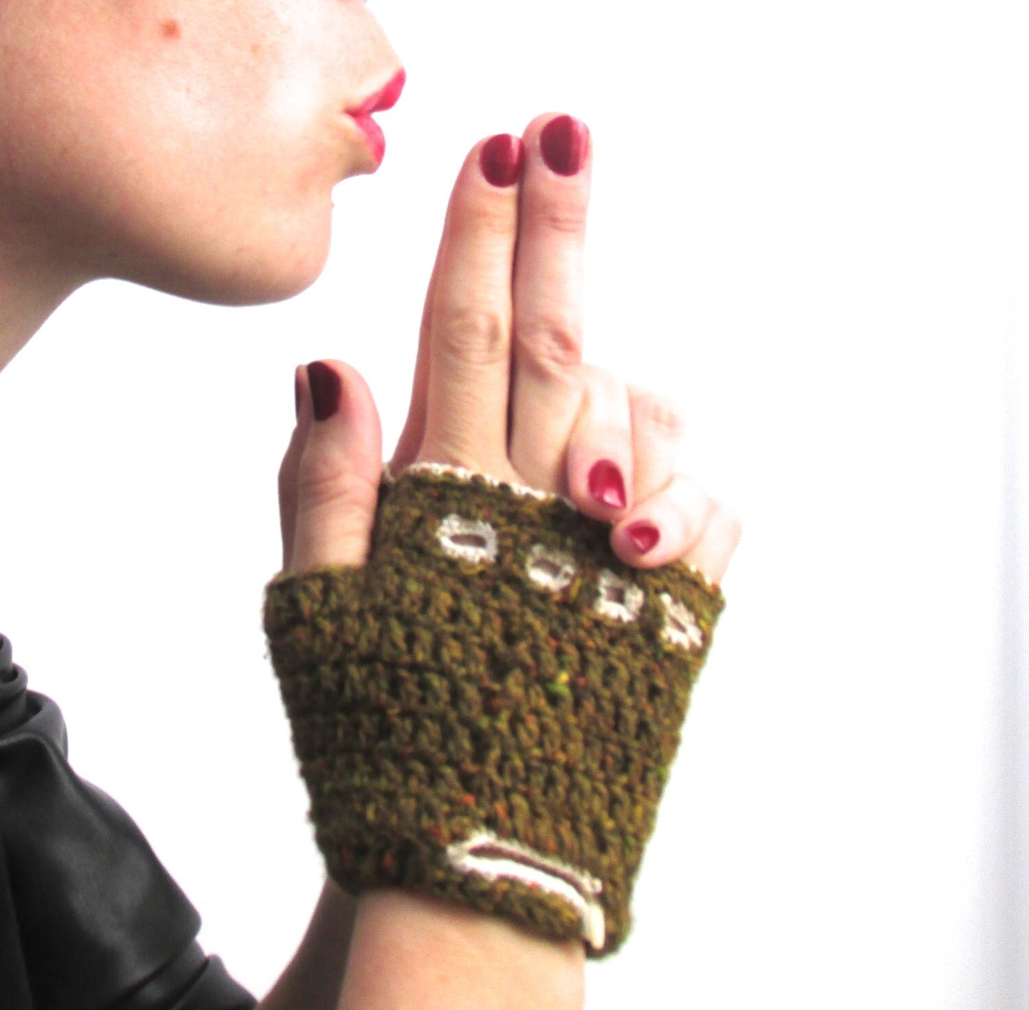 Driving gloves knitting pattern - This Is A Digital File