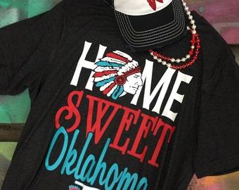 Home Sweet Oklahoma Super Soft Tee