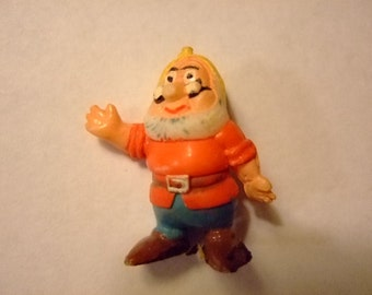 Vintage 1961 Disneykin of Doc from Snow White and the Seven Dwarfs, Marx Figurines, Classic Disney Collectible, Gift for Her, Christmas