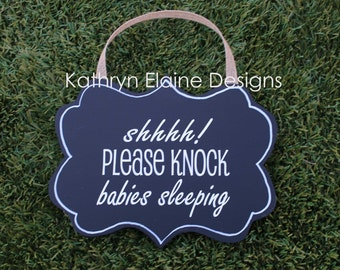 Babies Sleeping Door Hanger