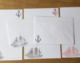 Ship Writing/Letter Set