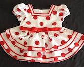 Shirley Temple replica dress