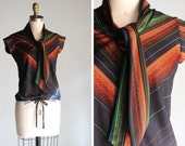 1970s Lucy Ascot Blouse
