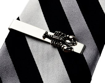 Lobster Tie Clip - Tie Bar - Tie Clasp - Gifts for Men - Handmade