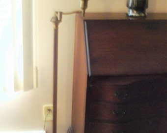 Vintage Swing Arm Floor Lamp - For Local Pickup Only
