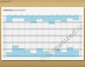 2017 Wall Calendar - Printable PDF