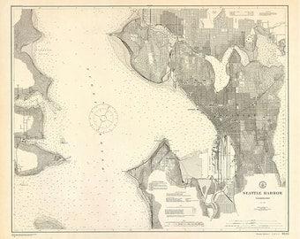 Seattle Harbor – 1911