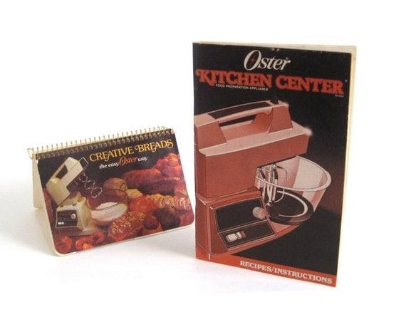Oster Kitchen Center Recipe Book