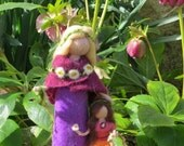 Conny and Carina , felted figures, Waldorf inspired