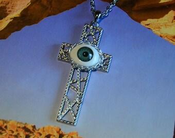 All Seeing Eye Cross