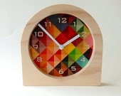 Objectify Grid2 Desk Clock with Numerals