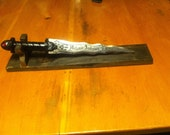Custom name dagger from Once Upon A Time for elahthompson1325