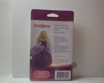Woman Flexible Clay Mold for Clay Crafting by Sculpey