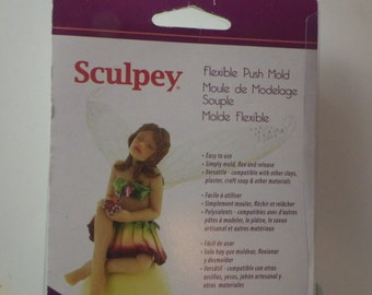 Fairy Flexible Clay Mold for Clay Crafting by Sculpey
