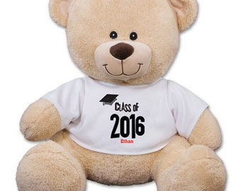 Personalized Class Of Graduation Teddy Bear - 837799X