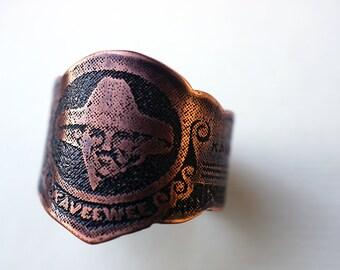 Adjustable Cigar Band Ring