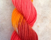 Hand Dyed Yarn - Here comes fall