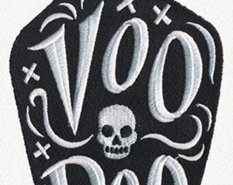 Voodoo Potion Bottle Embroidered Flour Sack Hand/Dish Towel