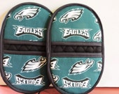 Mini Microwave Mitts-Oven Mitts-Pinchers-Eagles Mitts-Free Shippiing