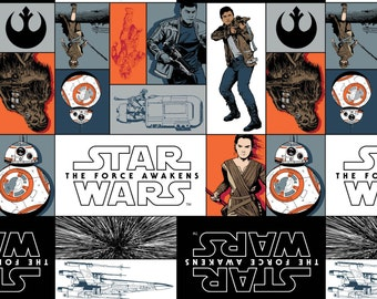 Star Wars 7 The Force Awakens - Multi Star Wars Rebels from Camelot Cottons