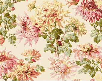 Sophia CANVAS - Floral Cream from Maywood Studio