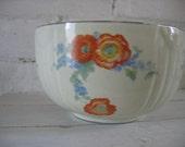 Vintage Hall's Mixing Bowl - Poppy