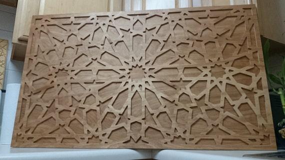 d cor de panneau murale bois marocain par djlight sur etsy. Black Bedroom Furniture Sets. Home Design Ideas