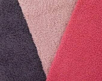 FLUFFY organic cotton faux fur knit