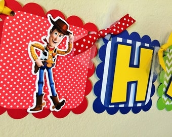 Toy Story Birthday Party Banner