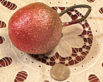Vintage Glittered Millinery Fruit