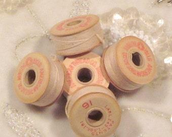 Vintage American Thread Company Bobbins
