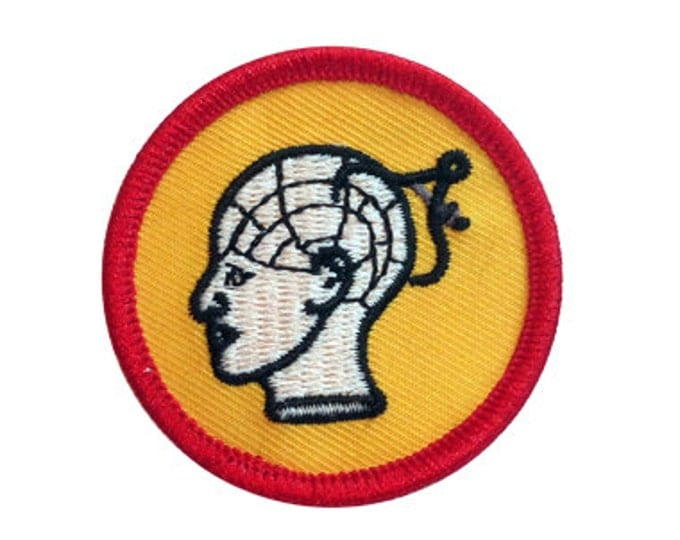 Phrenology Scout Badge