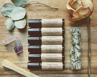 PERFUME OIL, peace oil-roll on, vegan perfume