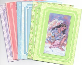 Angel Whispers notelets/ set of 6 note cards