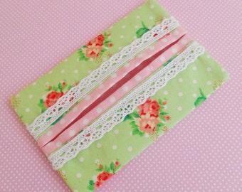 Cottage Chic Pocket/Handbag Tissue Holders