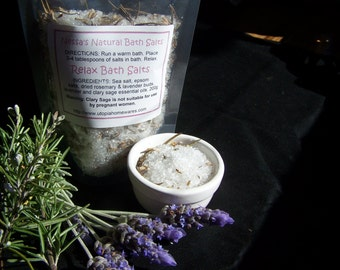 Relax Baths Salts with Essential Oils 250g