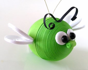 Bug Christmas Decoration Ornament, Children's Ornament, Insect Ornament - Assorted Colors Available