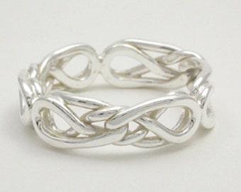 Eternal Love Celtic Knot Ring